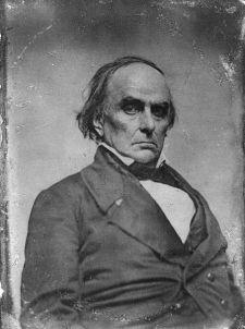 Senator Daniel Webster of Massachusetts. Photo by Library of Congress