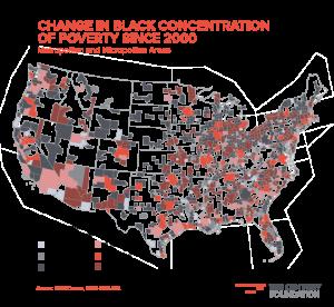 Black Lives Matter, concentration