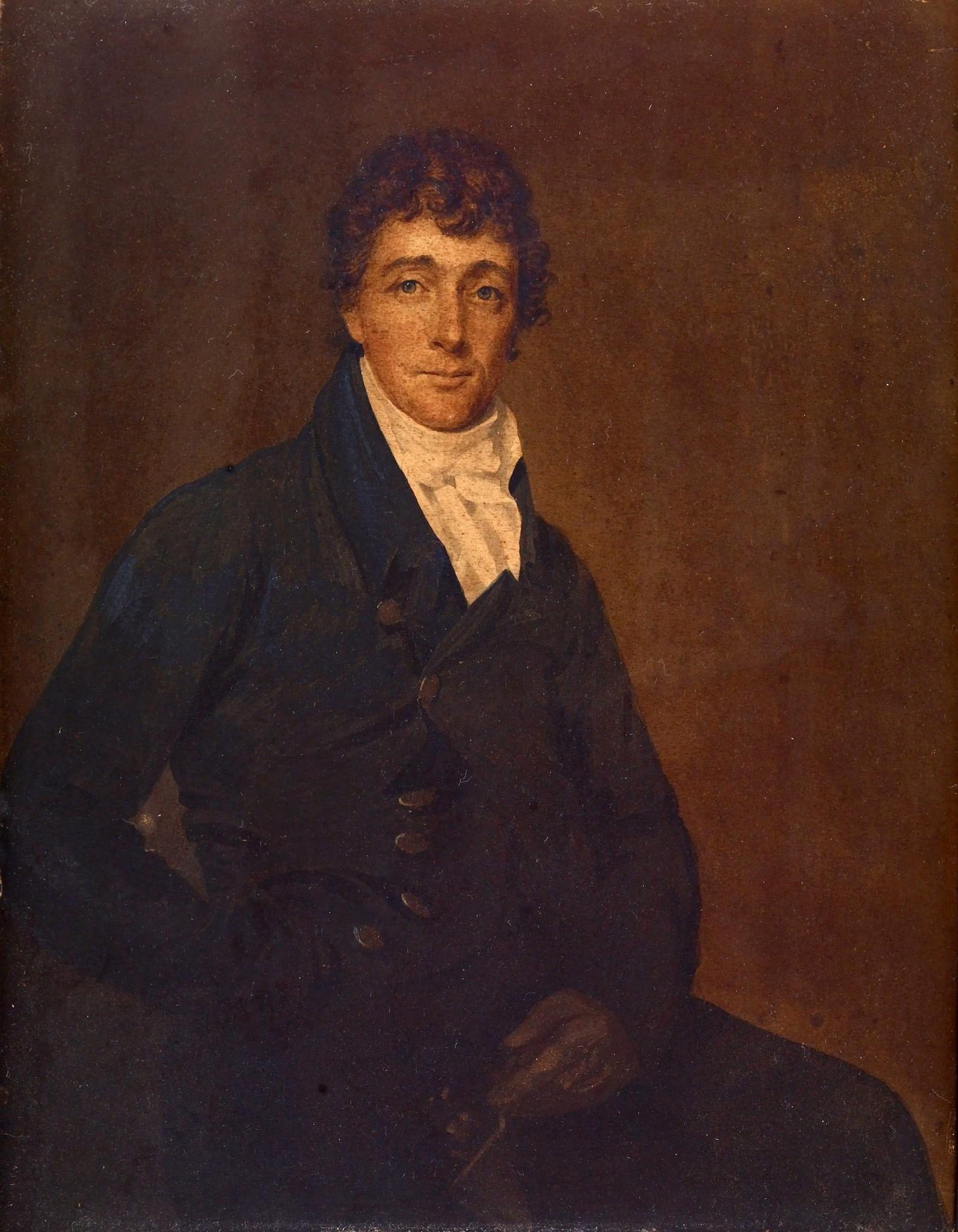 Francis Scott Key (c. 1825). Portrait by Joseph Wood