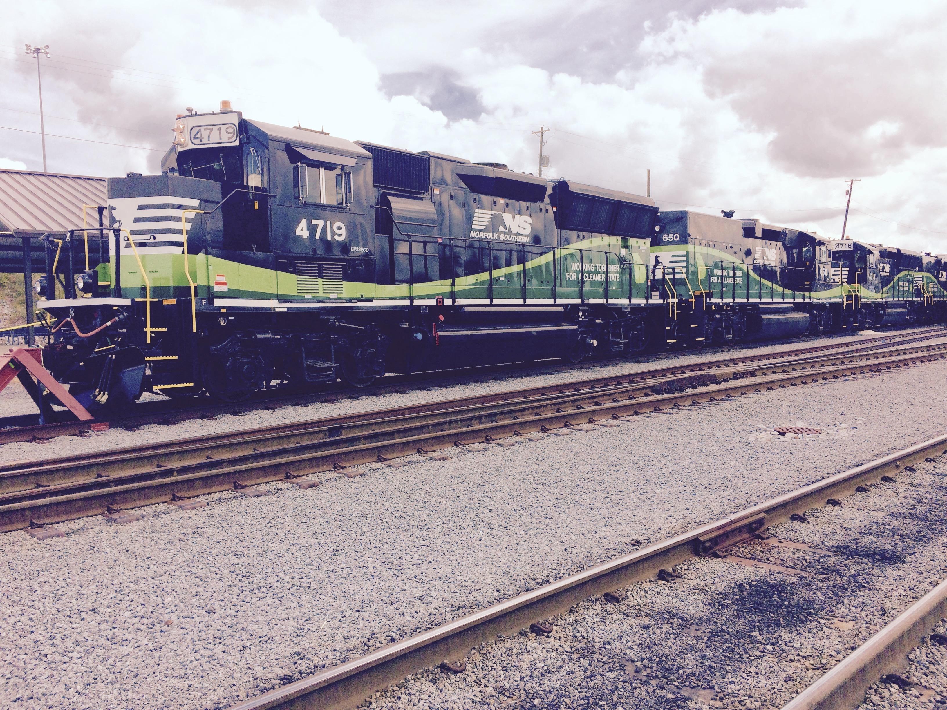 Norfolk Southern Eco locomotive