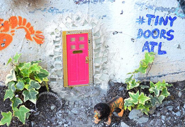 Tiny Doors ATL by Lisa Panero