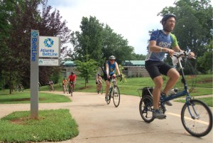 Atlanta is poised to accept a $250,000 grant that will enable it to create a position to coordinate the city's various bicycling programs. Credit: beltline.org