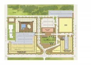 Civic Center site plan version 1