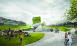 Second place design winner – Diaz Paunetto Arquitectos of Puerto Rico (Special: AIA Atlanta)