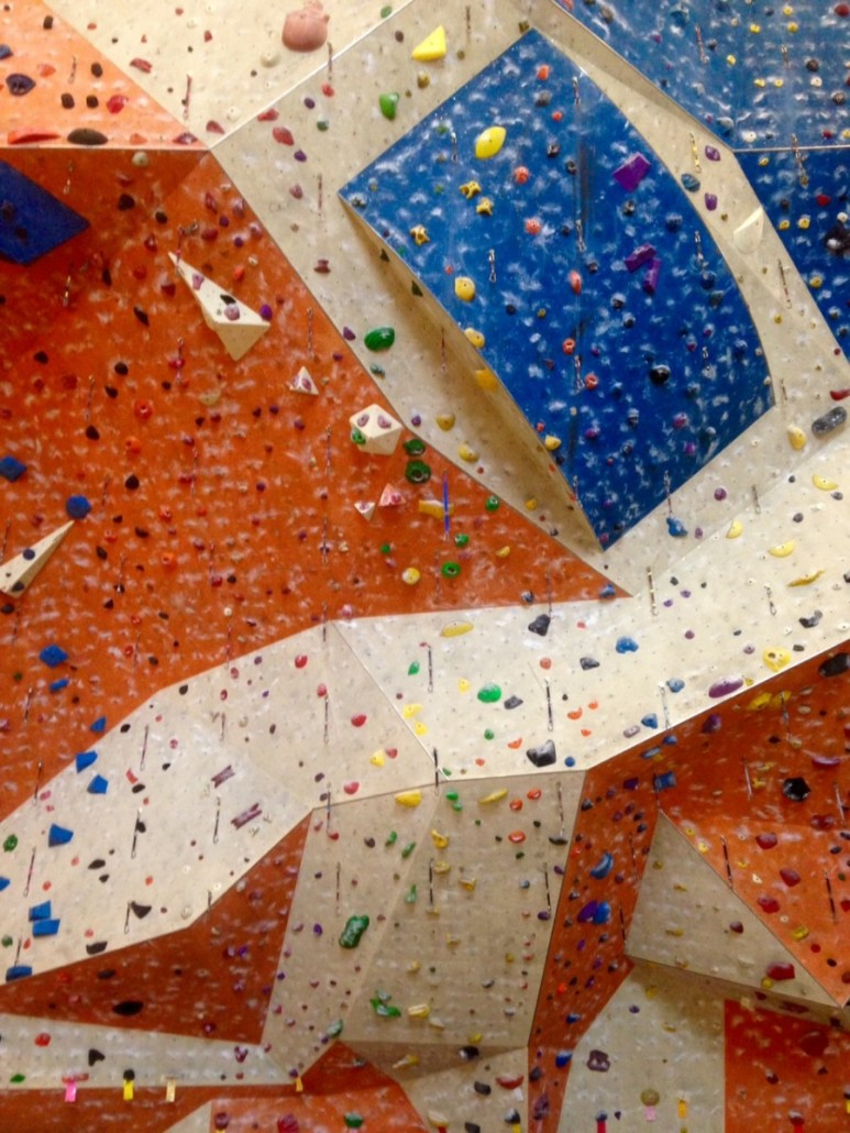 Social climbing by Kelly Jordan