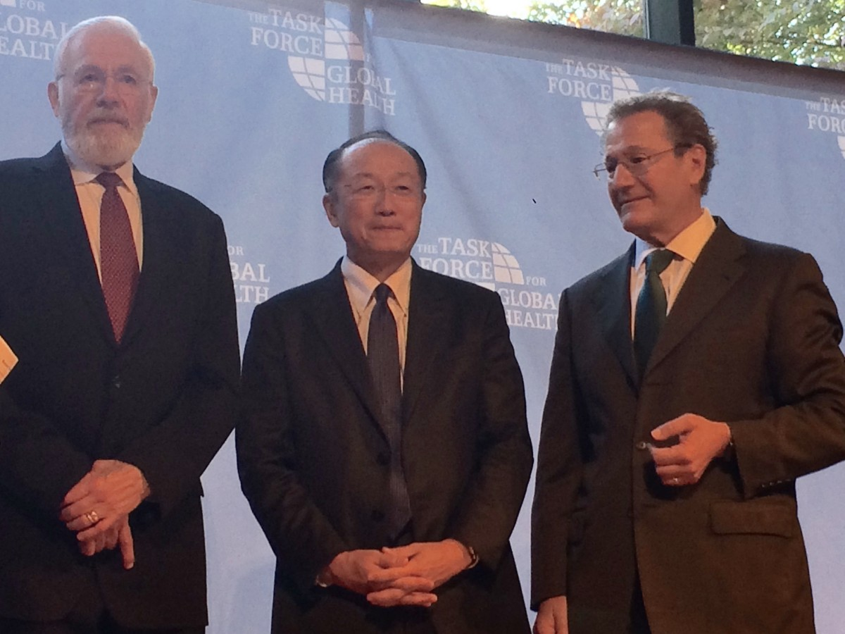 Bill Foege, Jim Kim, Mark Rosenberg