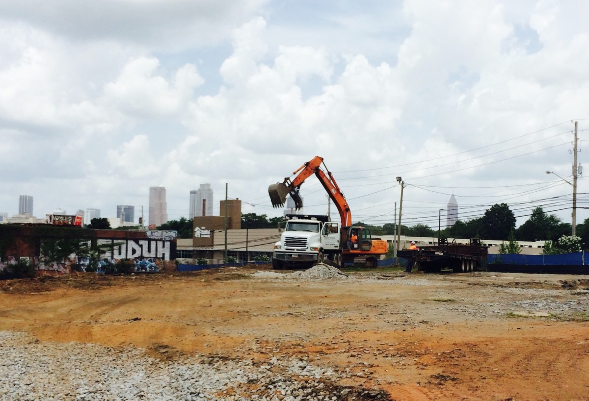 Memorial Drive, construction