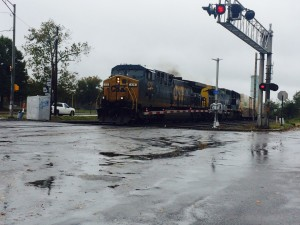 Murphy Crossing, train