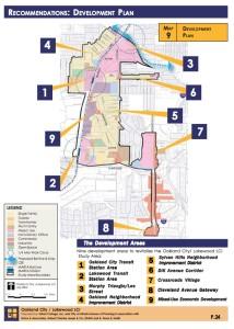 Oakland City/Lakewood redevelopment plan, 2004