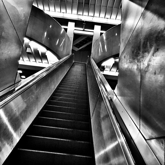 Five Points MARTA station by Wendy Darling