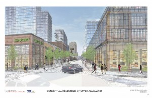 Underground Atlanta rendering