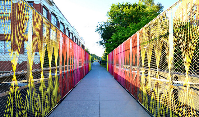 Bridge Over Ponce by Lisa Panero