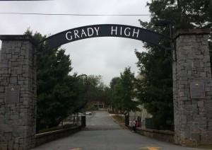 Grady High Archway