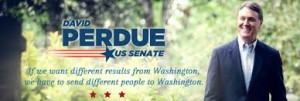A David Perdue campaign ad for when he was running for the U.S,. Senate
