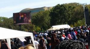 Crowds at the 2015 Million Man March (Credit Ananda Leeke)