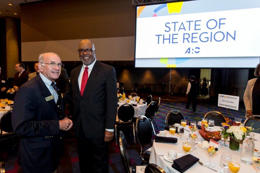 ARC state of the region