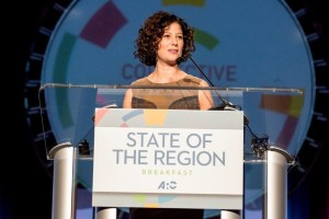Sevaun Palvetzian, CEO of Civic Action of Toronto, is keynote speaker at ARC's State of the Region breakfast on Oct. 30 (Special: Atlanta Regional Commission)