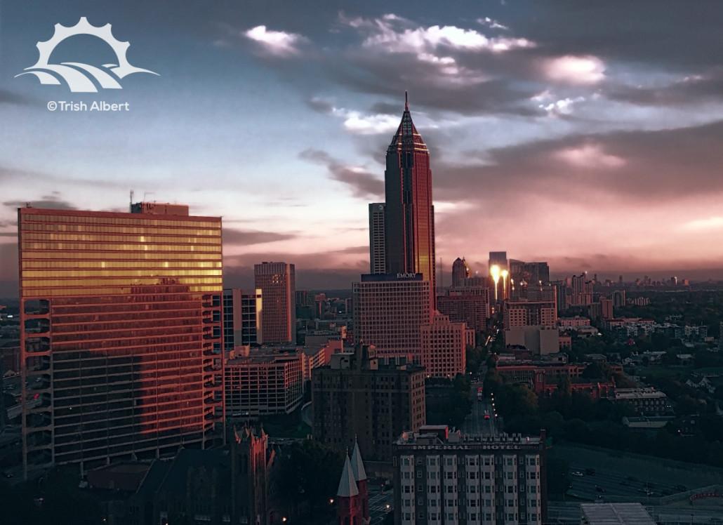 Midtown Sunrise by Trish Albert