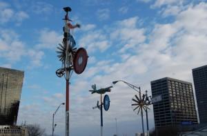 Folk Art Park, windmills