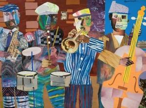 Jazz Village, by Romare Bearden