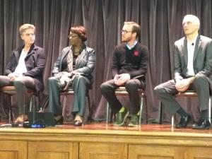 MODA Design Panel (Left to right) Tim Keane, Lisa Gordon, Greg Burbidge and Ryan Gravel
