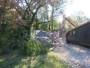Morningside home demolished