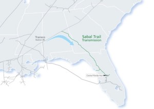 """The proposed Sabal Trail Pipeline earned the 11th position on the 2015 """"Dirty Dozen,"""" for its proposal to pipe natural gas from Alabama to Florida through environmentally sensitive areas. Credit: spectraenergy.com"""
