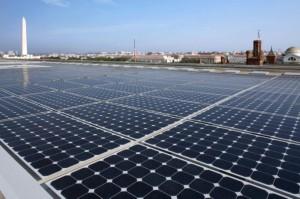 Solar panels, Department of Energy Forrestal Building