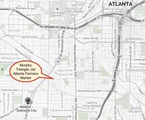 Southwest Atlanta map, large