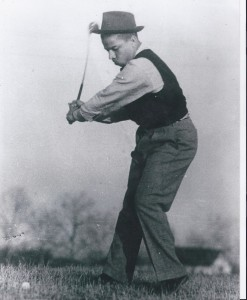 Tup Holmes swing