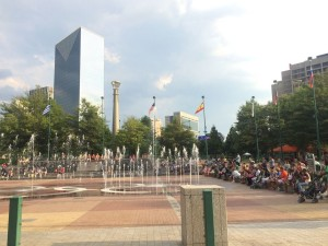 Centennial Olympic Park water feature (photo: Britton Edwards)