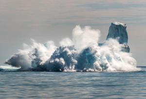 climate change, iceberg melts