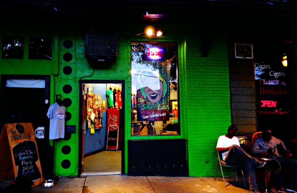 Tee Shirt Lady in East Atlanta Village by Lisa Bongiorno