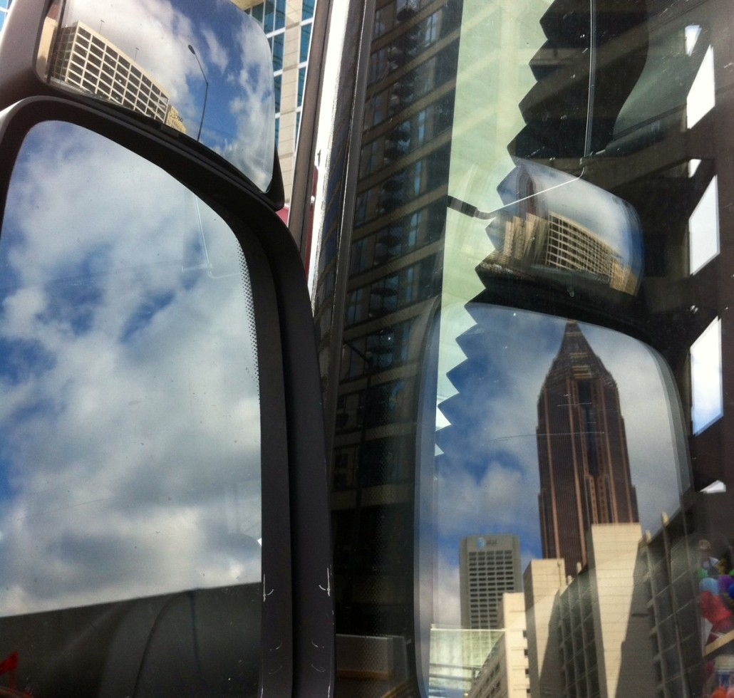 View from the bus by Kelly Jordan