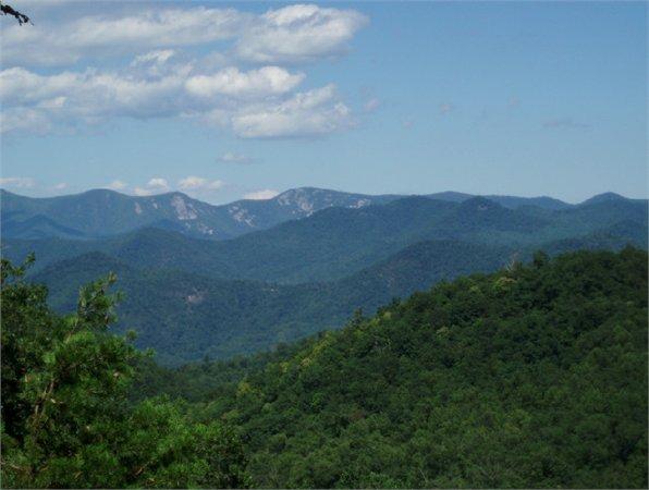 Rabun County in North Georgia