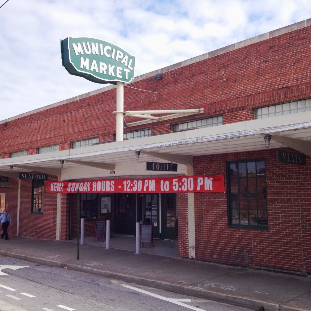 The Curb Market by Wendy Darling