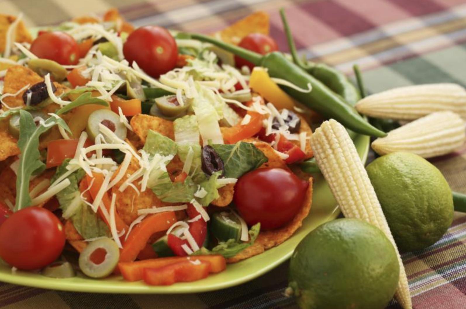 Diabetes, Mexican salad