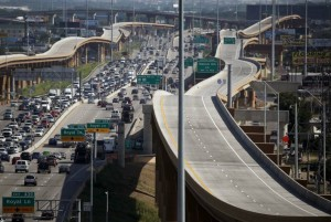 The expanded LBJ Freeway, in Dallas, was opened in September and built by the same lead contractor named to rebuild the interchange at Ga. 400 and I-285. Credit: dallasnews.com