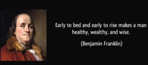 A recent flurry of reports helps establish where Georgia stands in terms of Ben Franklin's proverb. Credit: izquotes.com