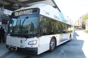 MARTA bus, CNG, 2