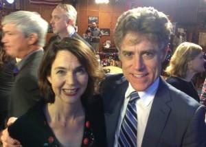 Stephanie Benfield and Tim Keane