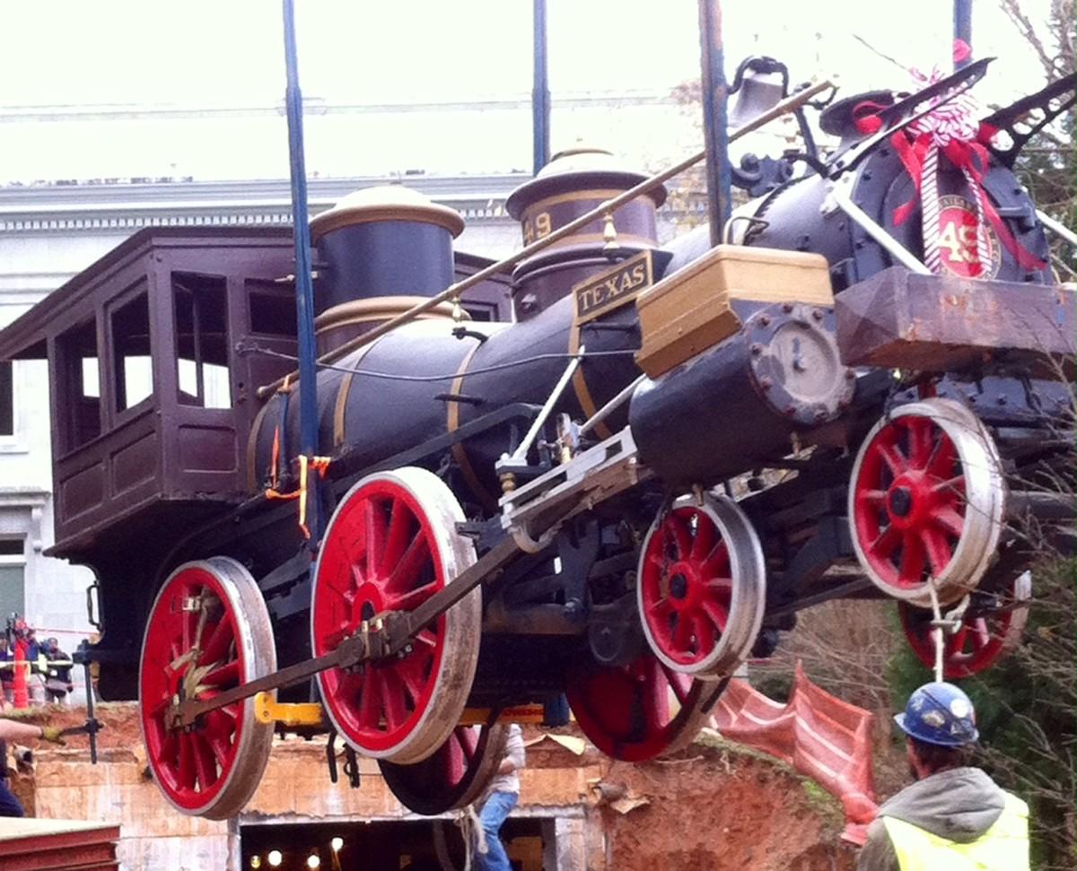 Texas locomotive