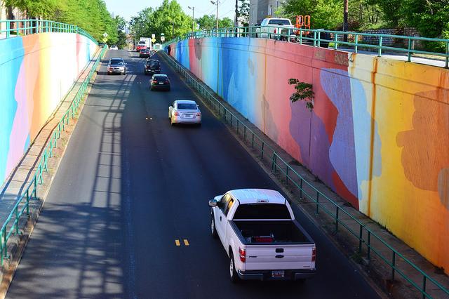 Boulevard Mural  by Lisa Panero