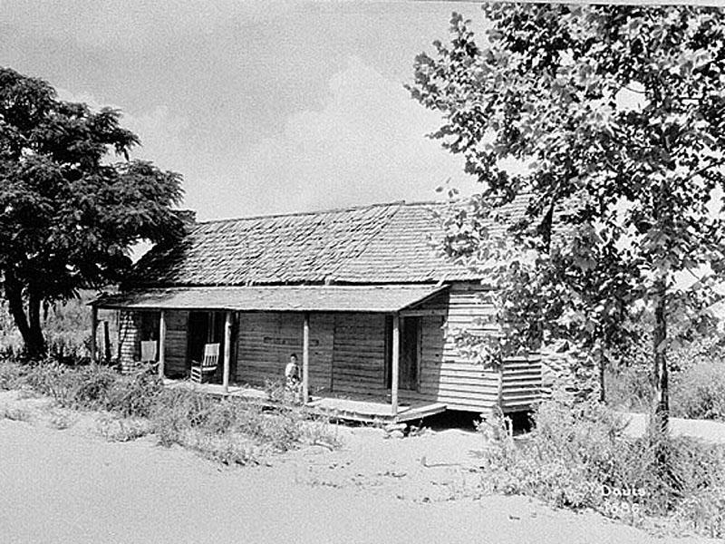 Tenant farmhouse in Troup County, circa 1933