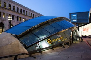 DC bicycle station
