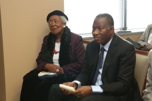 Goodluck Jonathan & Naomi King