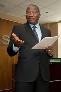 Goodluck Jonathan speaking