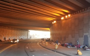 homeless downtown Atlanta