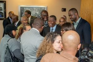 Jonathan Goodluck congratulated