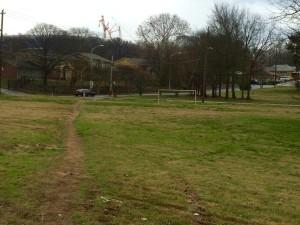 Mims Park, path